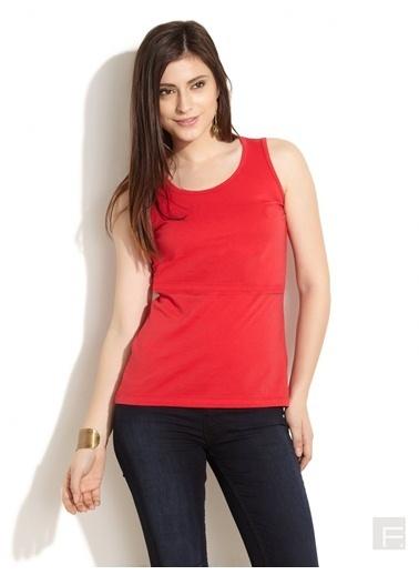 Simms Tişört Kırmızı